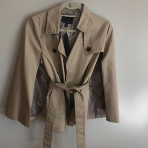 Banana trench cape - new with tags